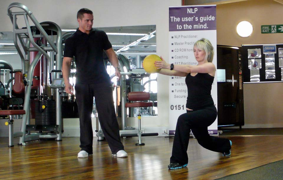 Personal training at Atom Health and Fitness Billingham