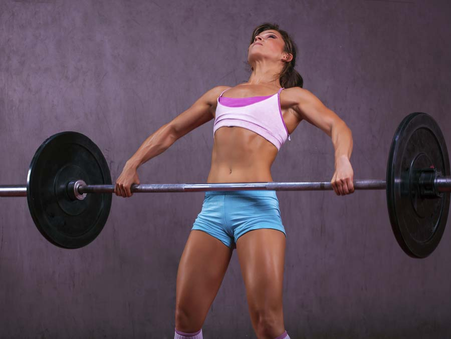 female snatch - abs development -